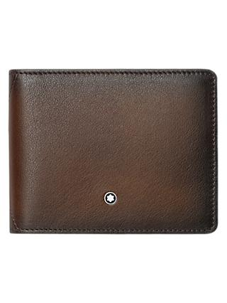Montblanc Meisterstück Sfumato Wallet with Money Clip, Brown