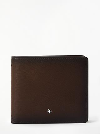 Montblanc Meisterstück Sfumato 4 Card Wallet with Coin Case, Brown