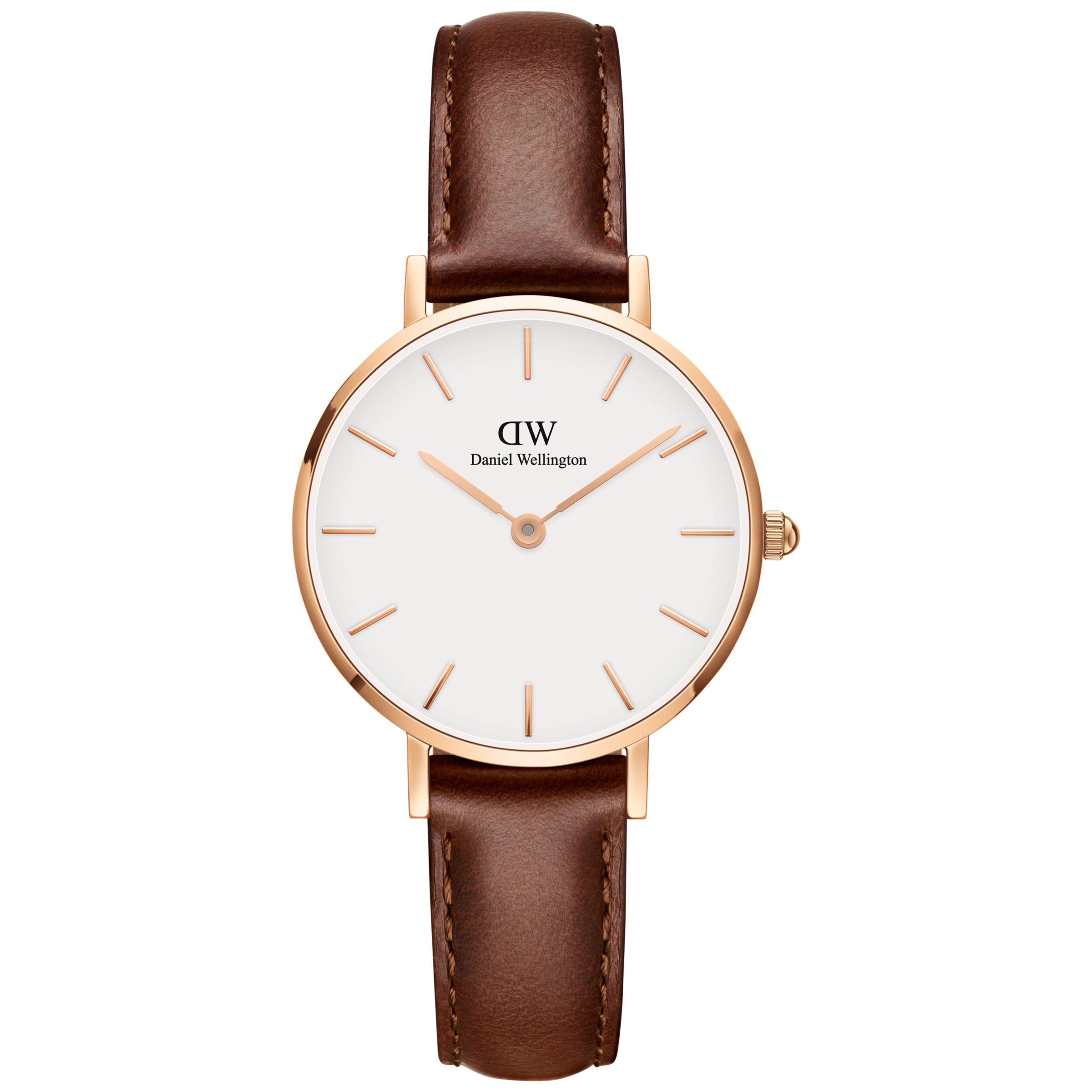 Daniel Wellington Daniel Wellington Unisex 28mm Leather Strap Watch