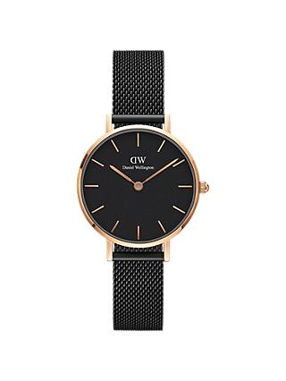 Daniel Wellington Unisex 28mm Mesh Bracelet Strap Watch