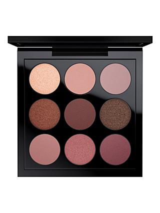 MAC Eyeshadow x 9, Burgundy Times Nine