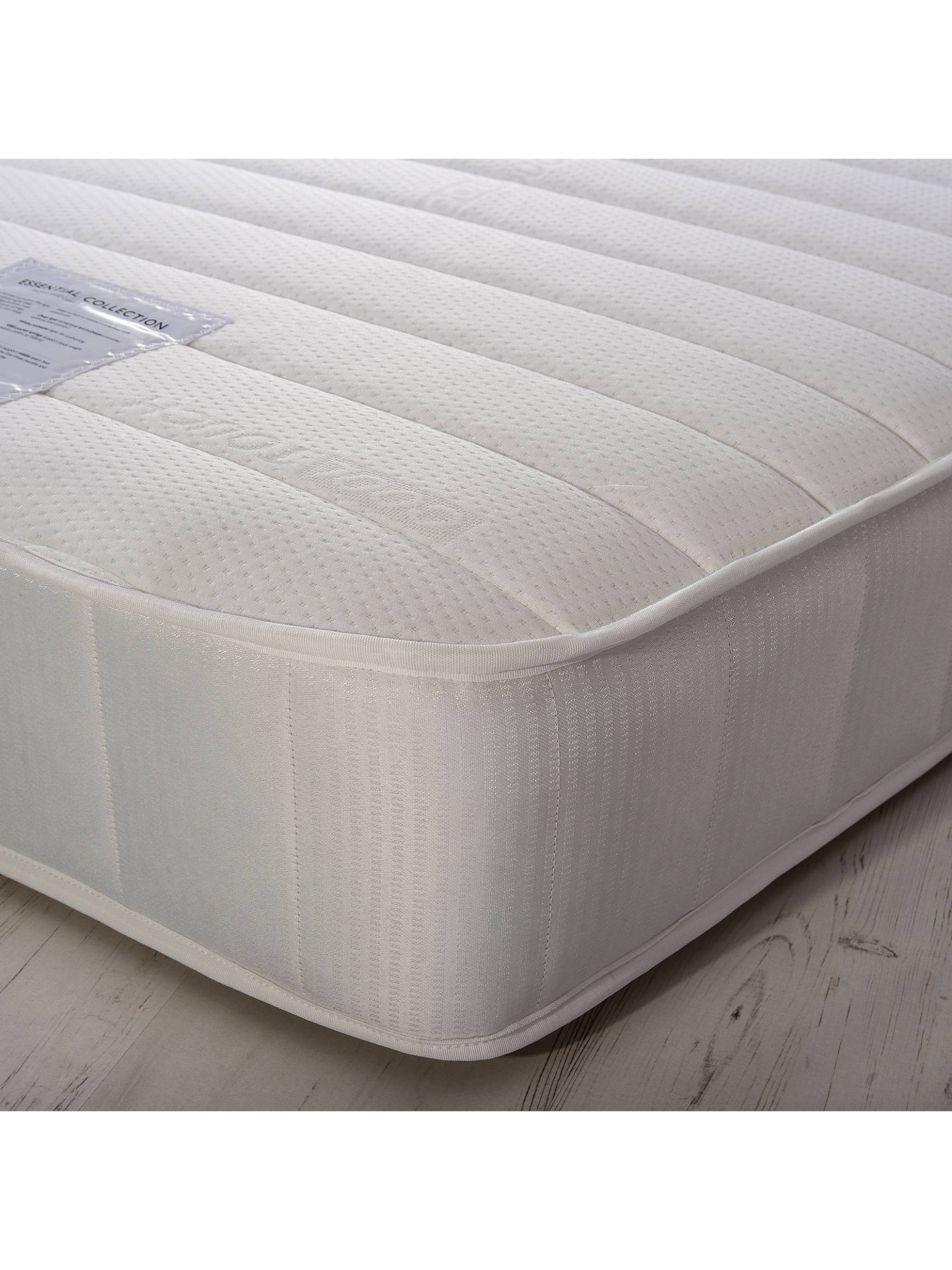 Buy John Lewis & Partners Essentials Collection Pocket 1000 Luxury, Medium Tension, Pocket Spring Mattress, Single Online at johnlewis.com