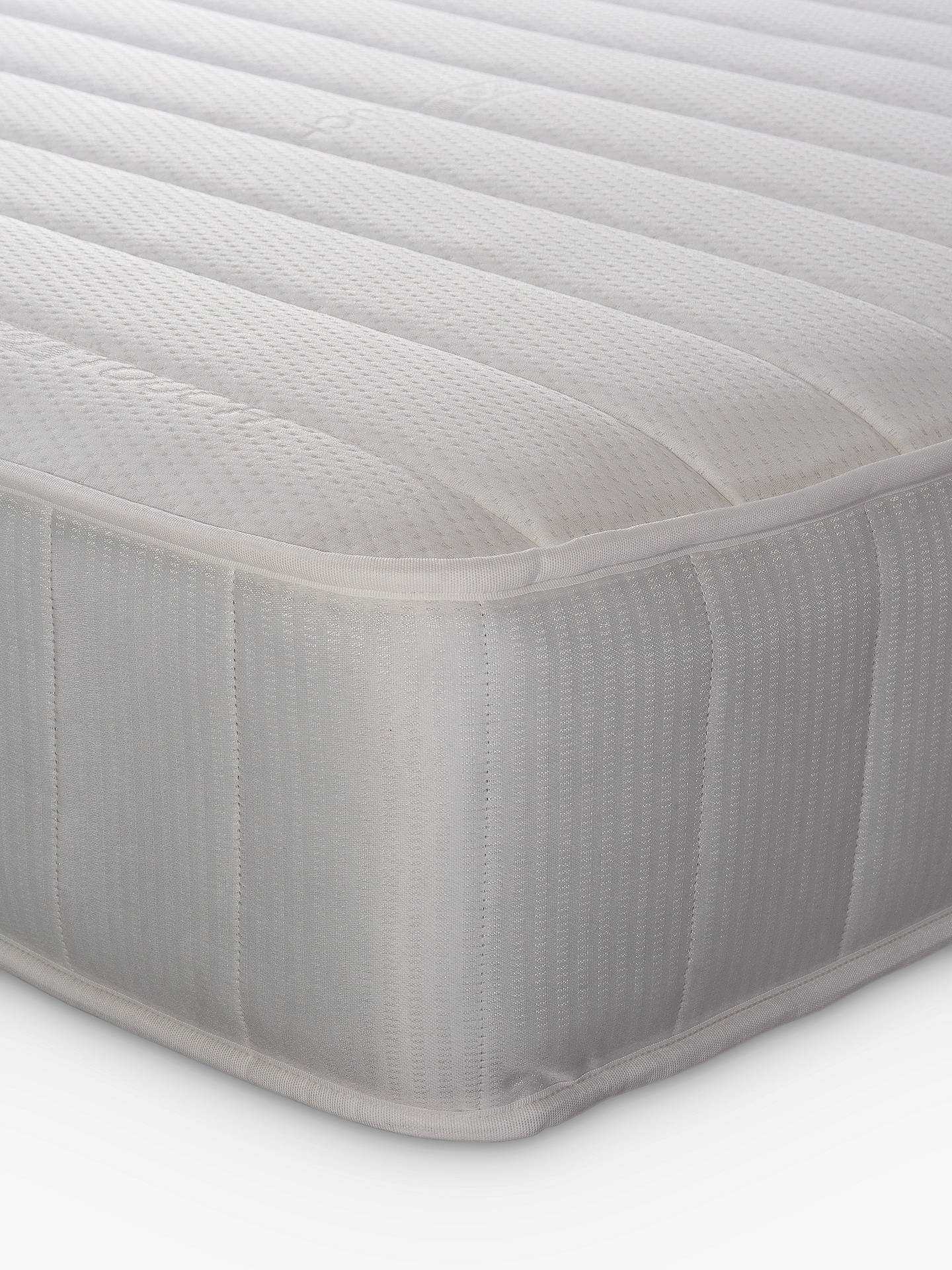 Buy John Lewis & Partners Essentials Collection Pocket 1000 Luxury, Medium Tension, Pocket Spring Turnable Mattress, Single Online at johnlewis.com