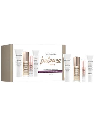 bareMinerals Balance to Go Travel Size Skincare Gift Set, Normal/Dry Skin