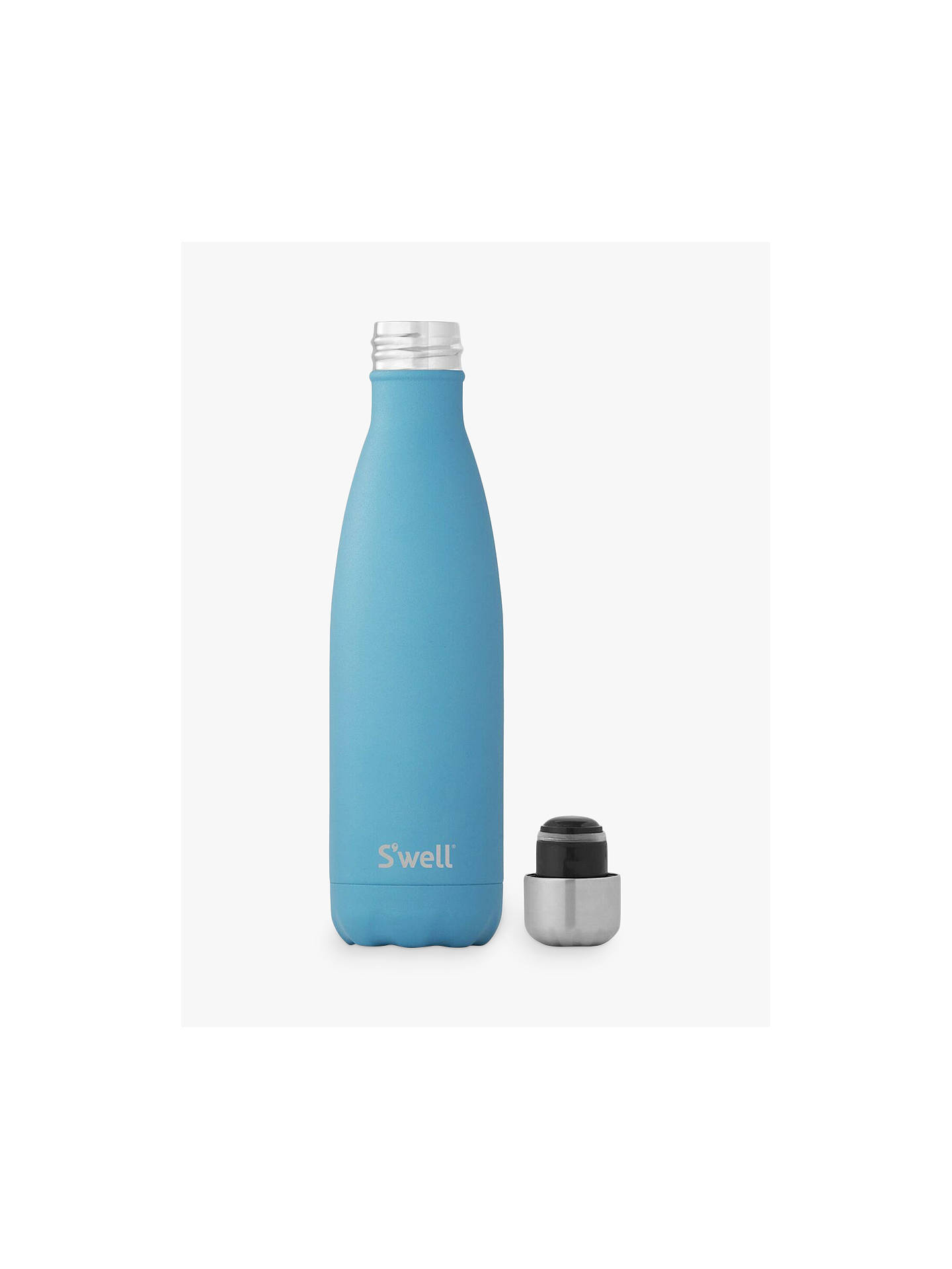 Buy S'well Flourite Vacuum Insulated Drinks Bottle, Blue, 500ml Online at johnlewis.com