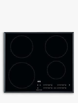 AEG IKB64401FB 56cm Induction Hob, Black
