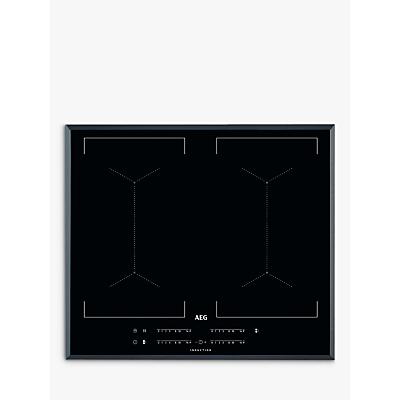 Image of AEG IKE64450FB 59cm MaxiSense Induction Hob, Black