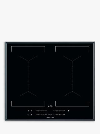 AEG IKE64450FB 59cm MaxiSense Induction Hob, Black