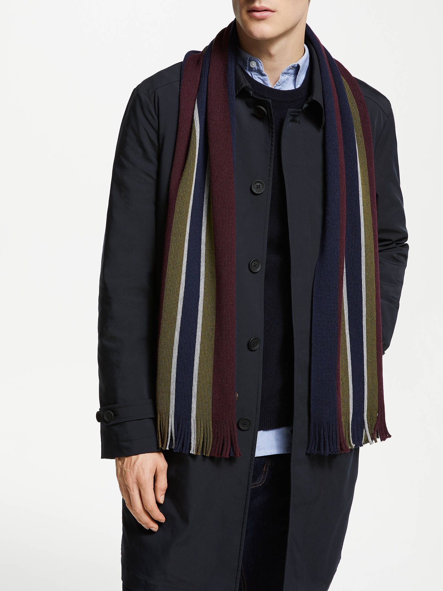 cc98c9787d6f Offer  Ted Baker Striped Scarf at John Lewis   Partners