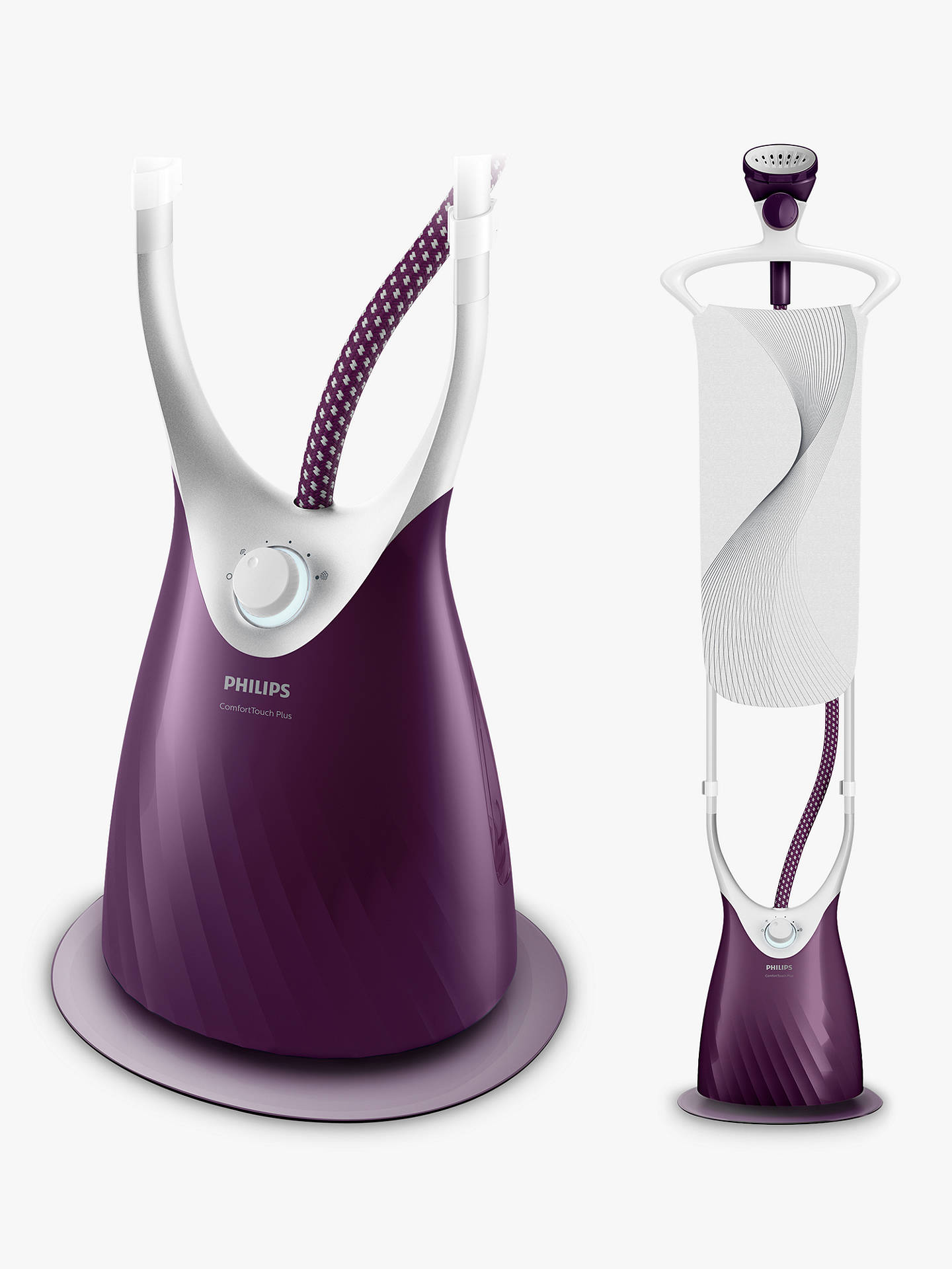 Buy Philips GC558/36 ComfortTouch Plus Garment Steamer Online at johnlewis.com