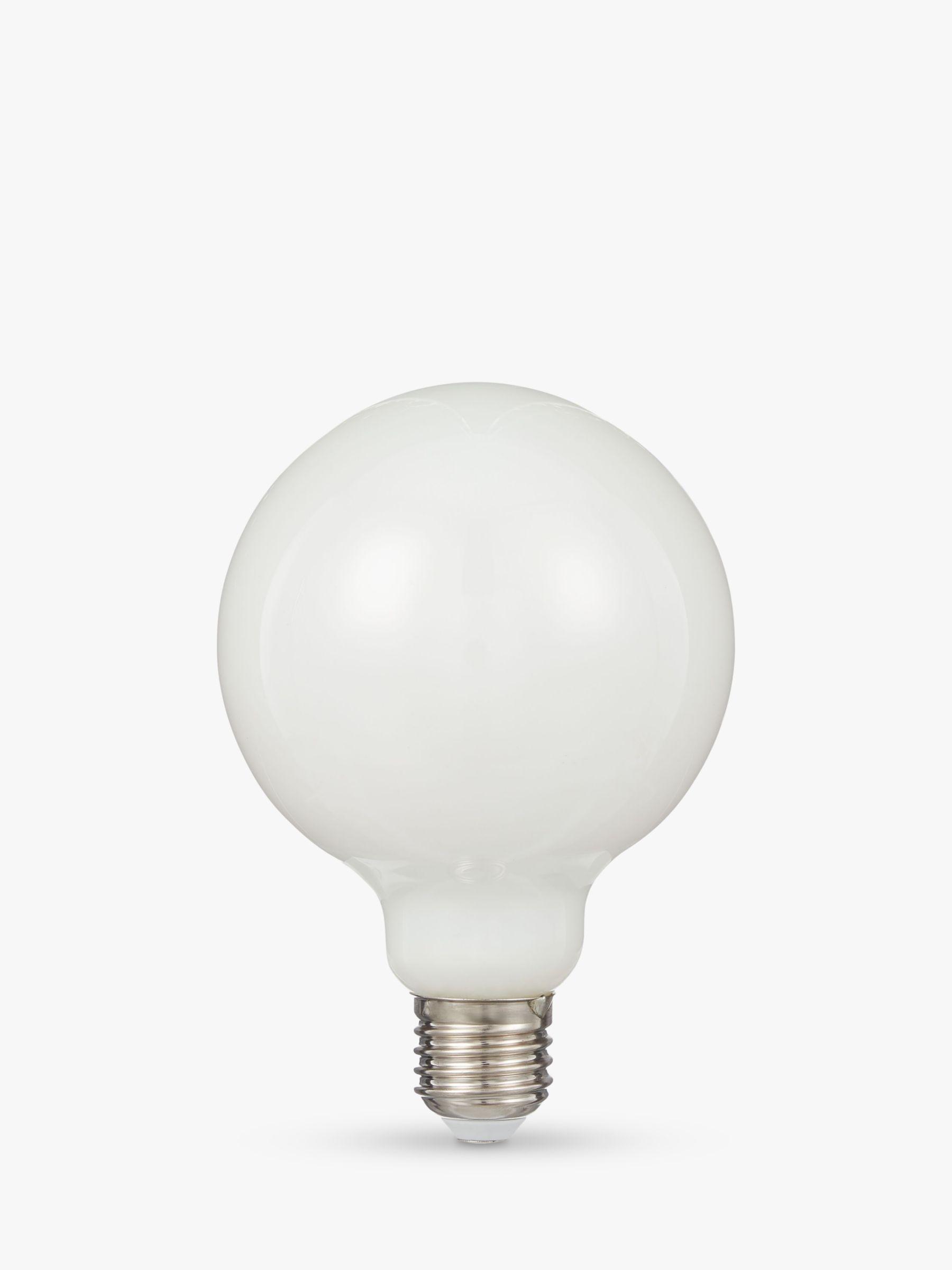 Calex Calex 8W ES LED Dimmable Globe Bulb, White