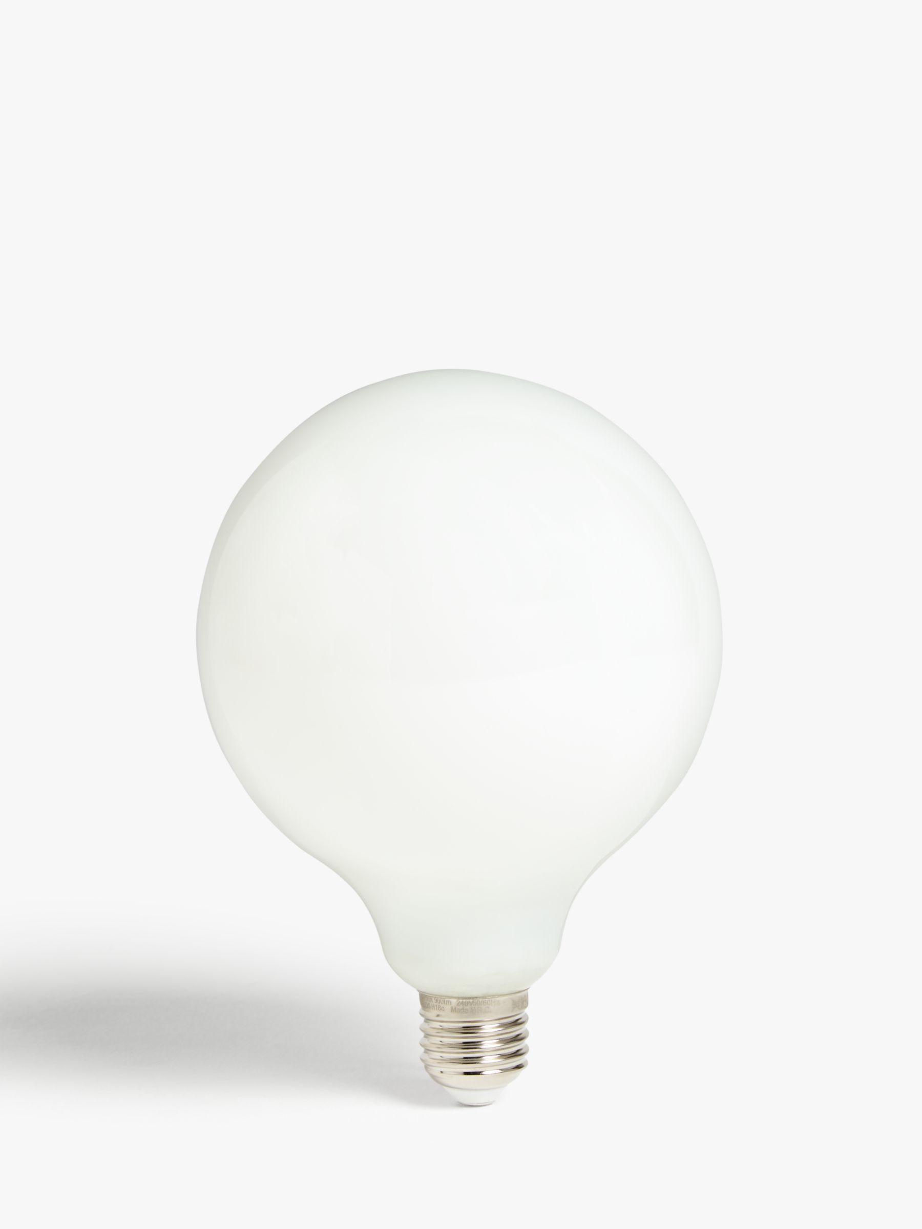 Calex Calex 8W ES LED Dimmable Filament Globe Bulb, White
