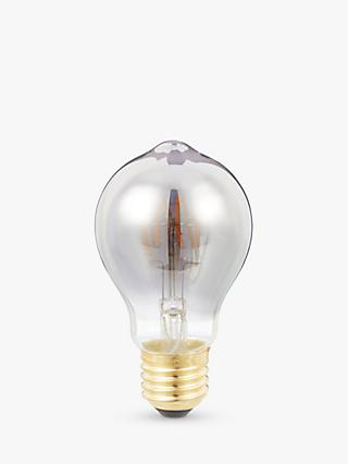 Calex 4W ES LED Dimmable Flexible Filament Classic Bulb, Smoke