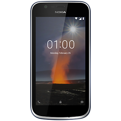 "Image of Nokia 1 Smartphone, Android, 4.5"", 4G LTE, SIM Free, 8GB"