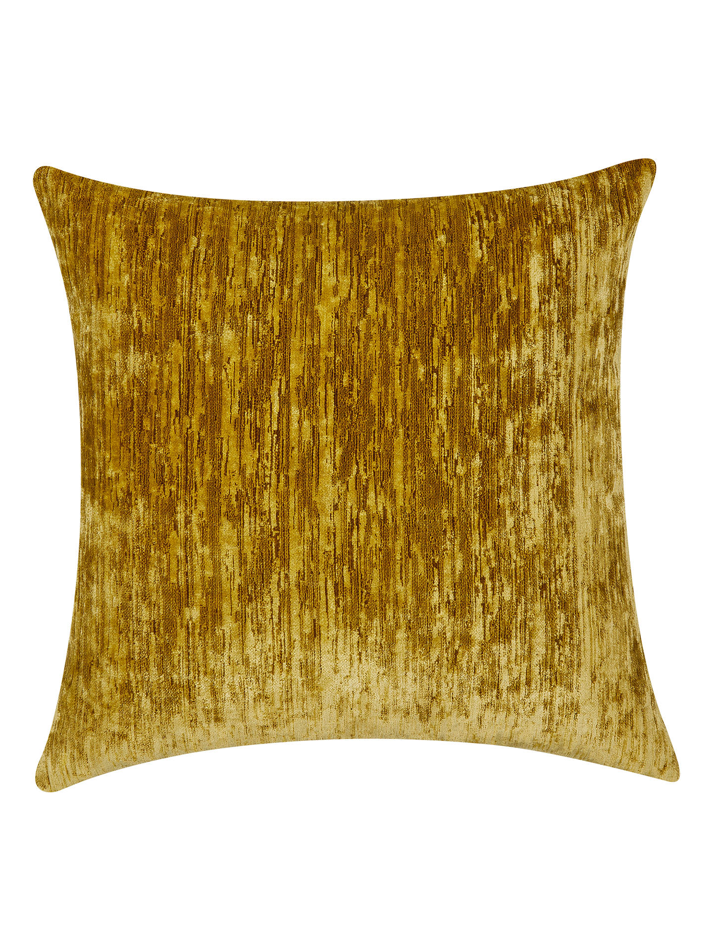 BuySanderson Icaria Velvet Cushion, Gold Online at johnlewis.com
