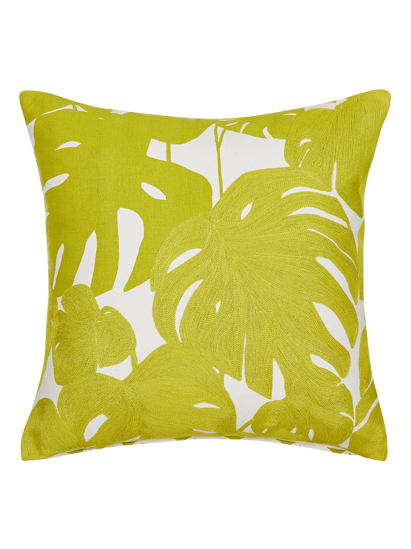 BuyScion Arizona Cushion, Green Online at johnlewis.com