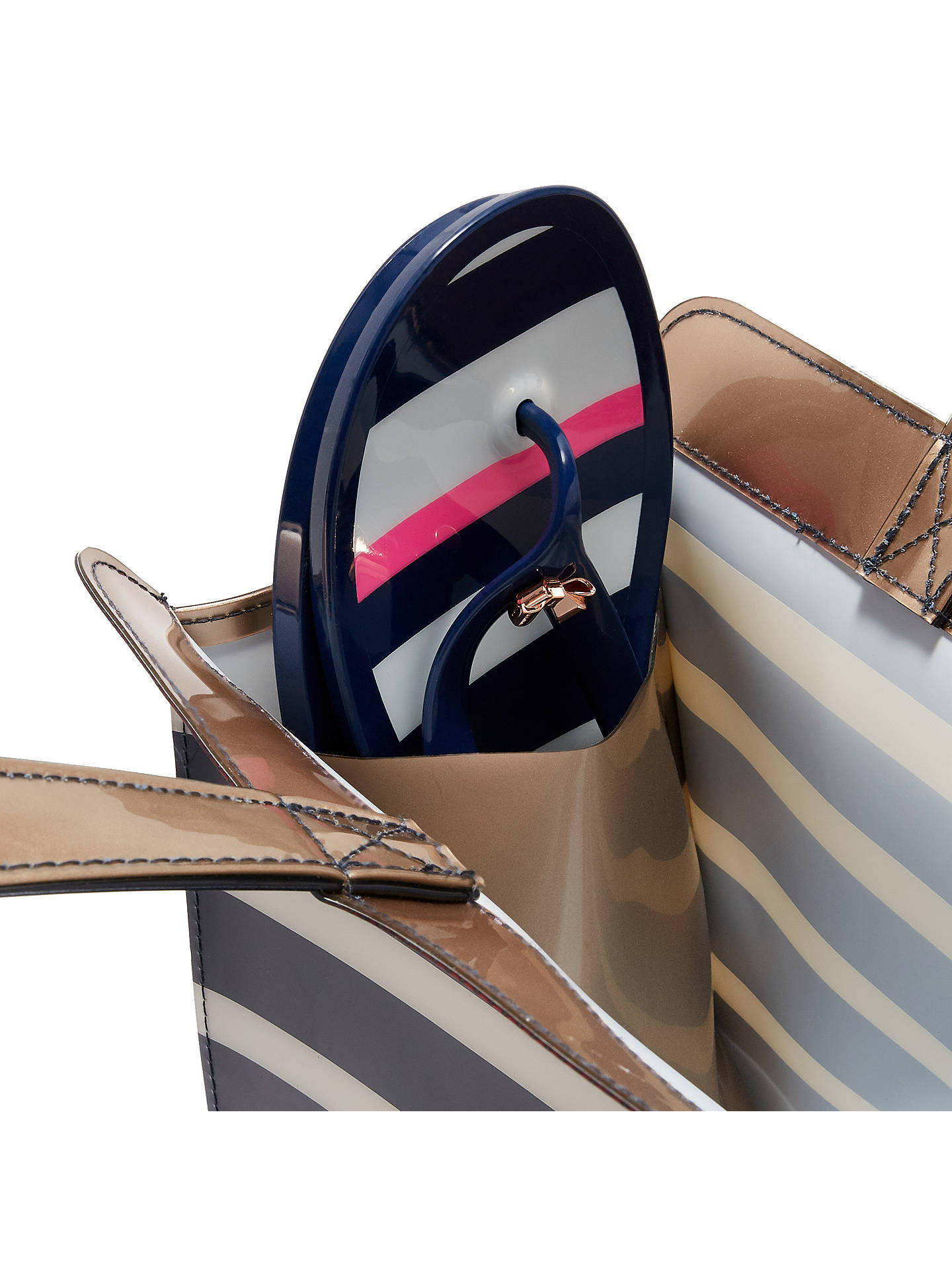 c17736c7956b ... Buy Ted Baker Ned Striped Icon Bag and Flip Flop Set