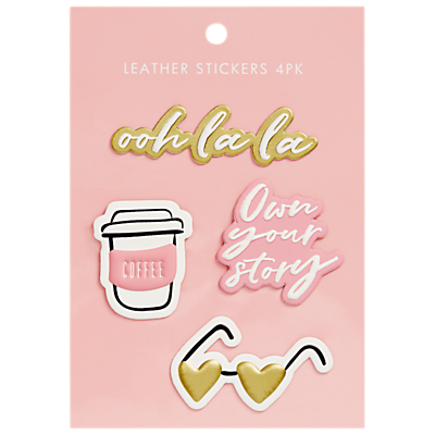 Image of kikki.K Own Your Story Leather Stickers