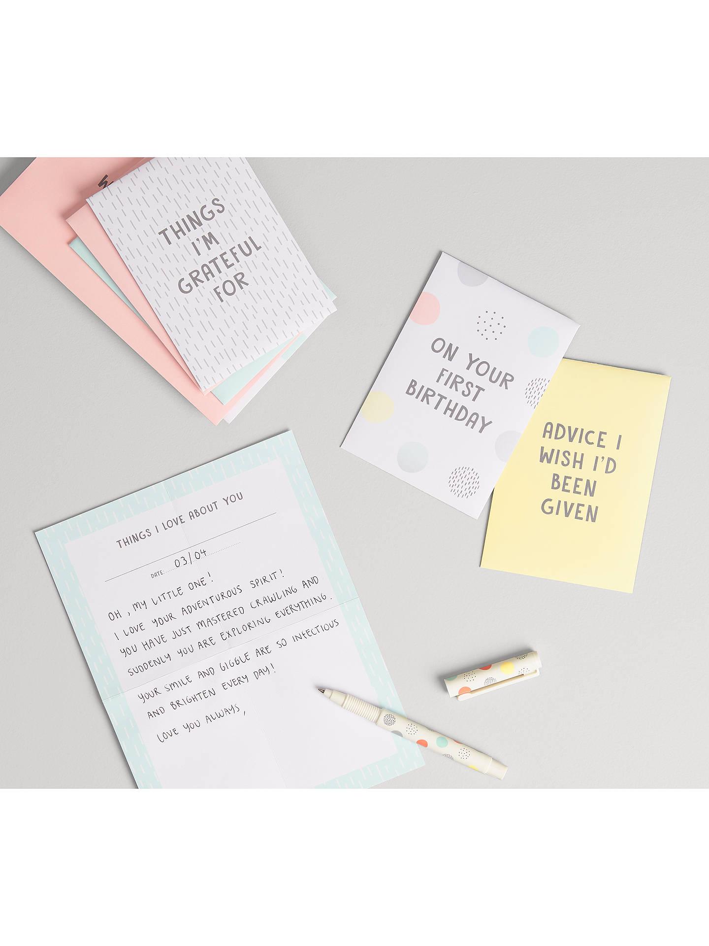 kikki K Letters to my Child Set