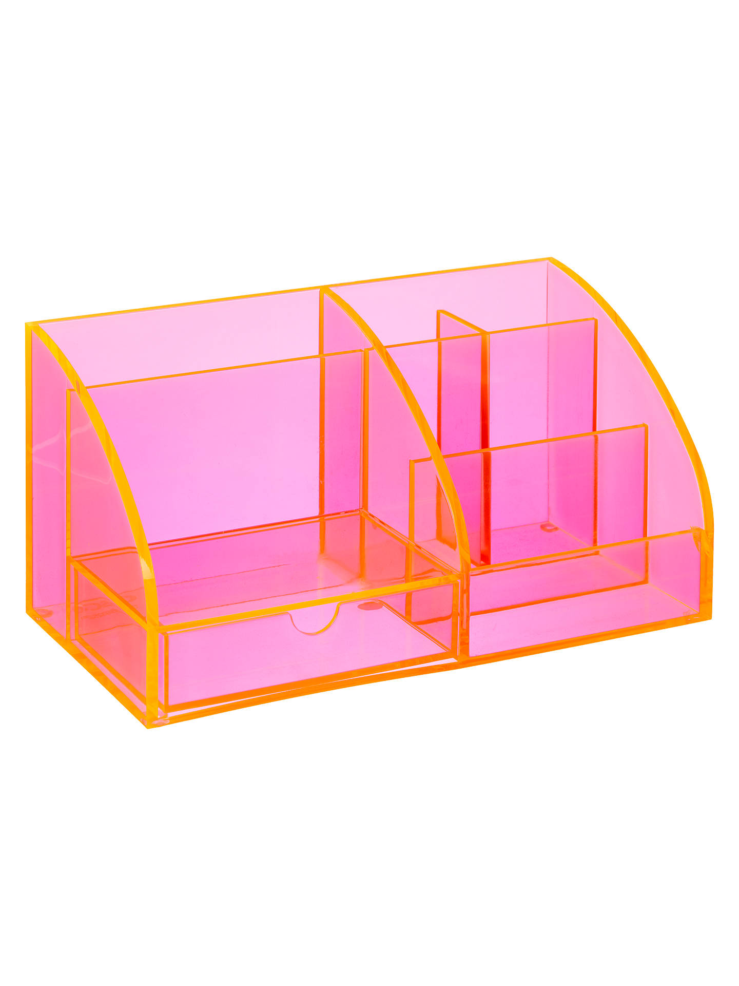 BuyOsco Desk Organiser, Pink Online at johnlewis.com