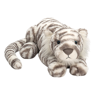 Image of Jellycat Sacha Snow Tiger Soft Toy