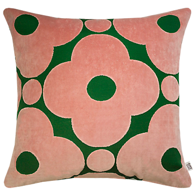 Orla Kiely Velvet Spot Flower Cushion