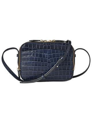L K Bennett Mariel Leather Cross Body Bag