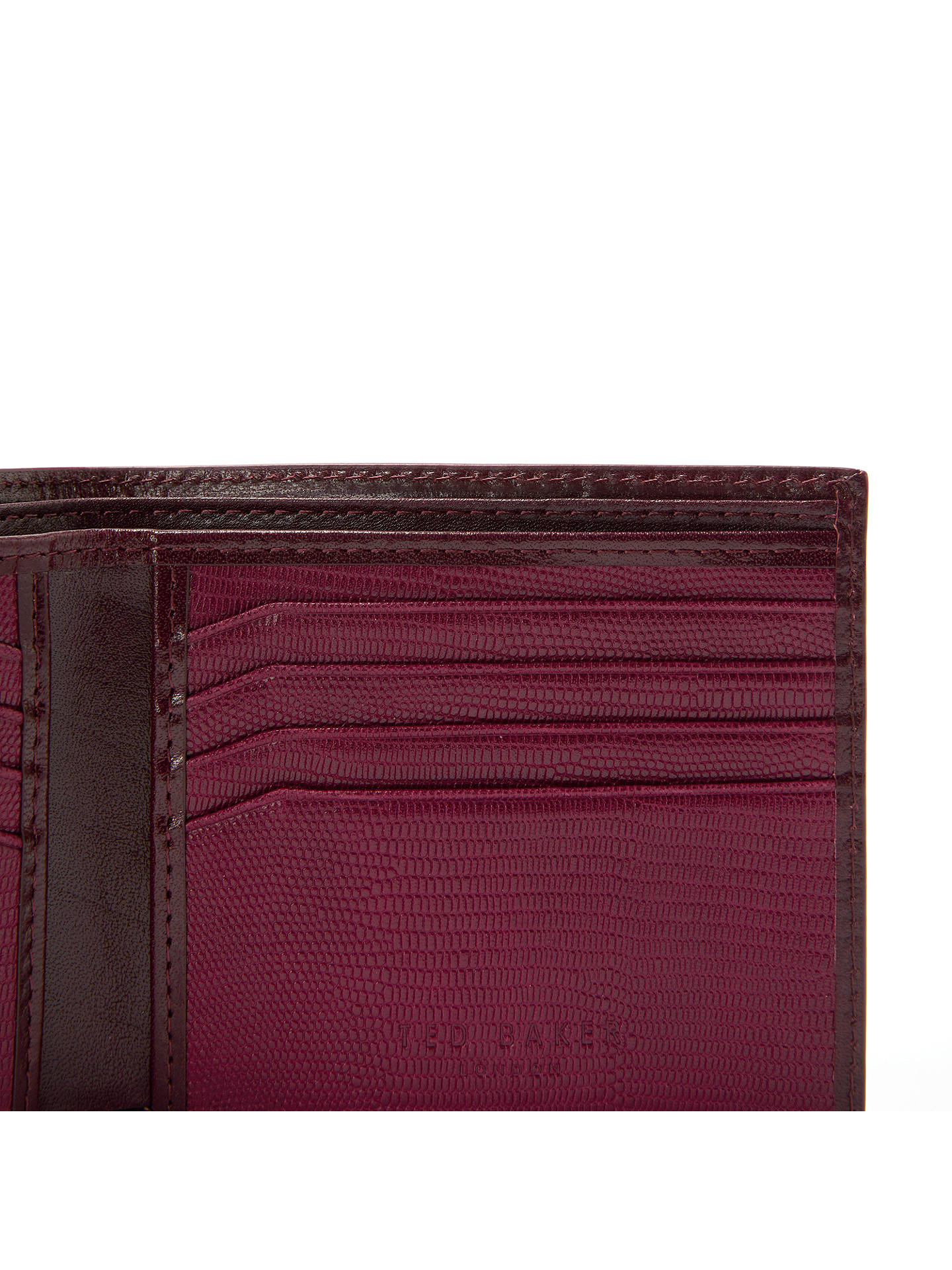 BuyTed Baker Spidey Contrast Bifold Wallet, Red Online at johnlewis.com