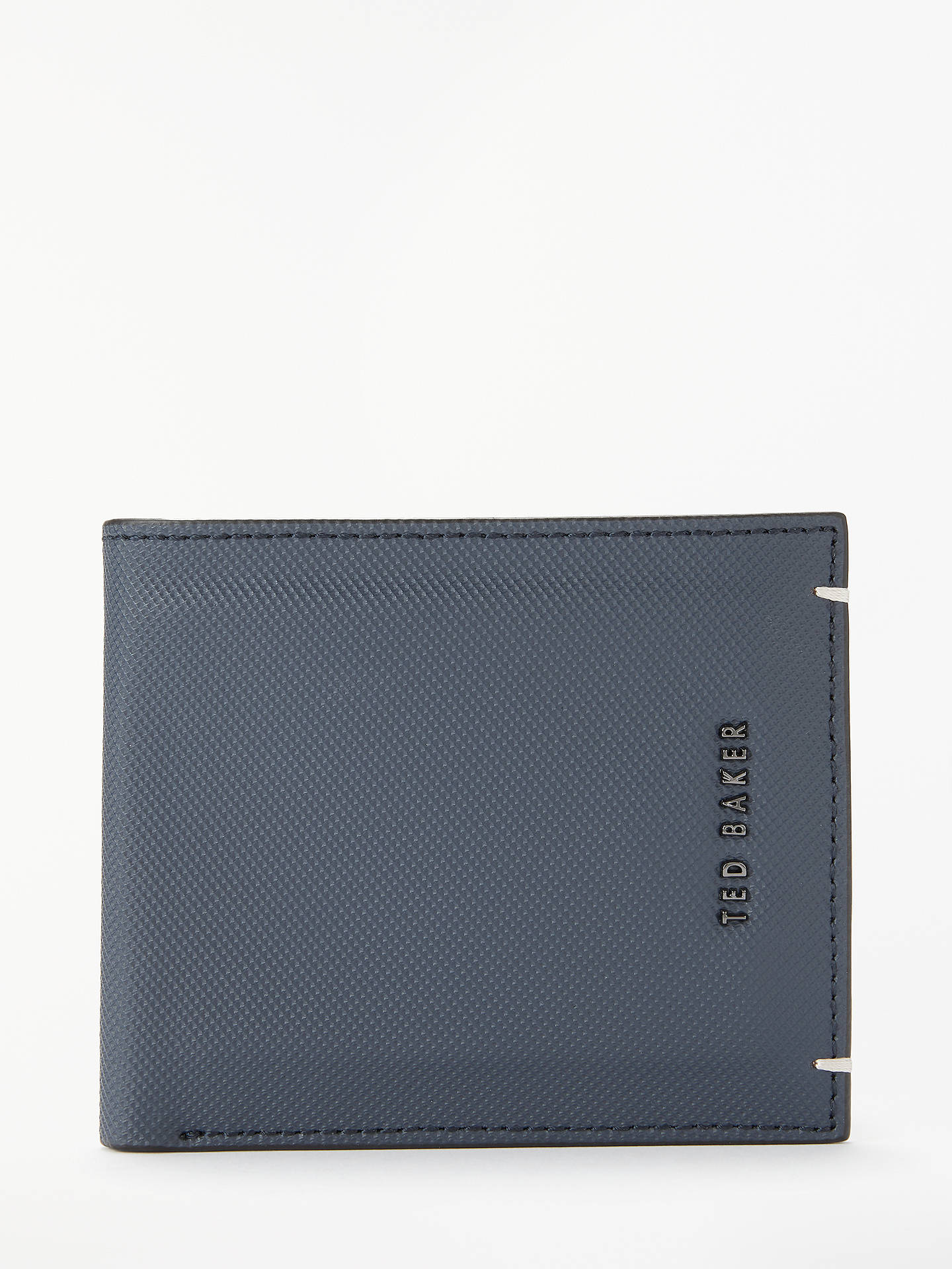 e46d208470aa1e Buy Ted Baker Stormz Perforated Leather Bi-fold Wallet