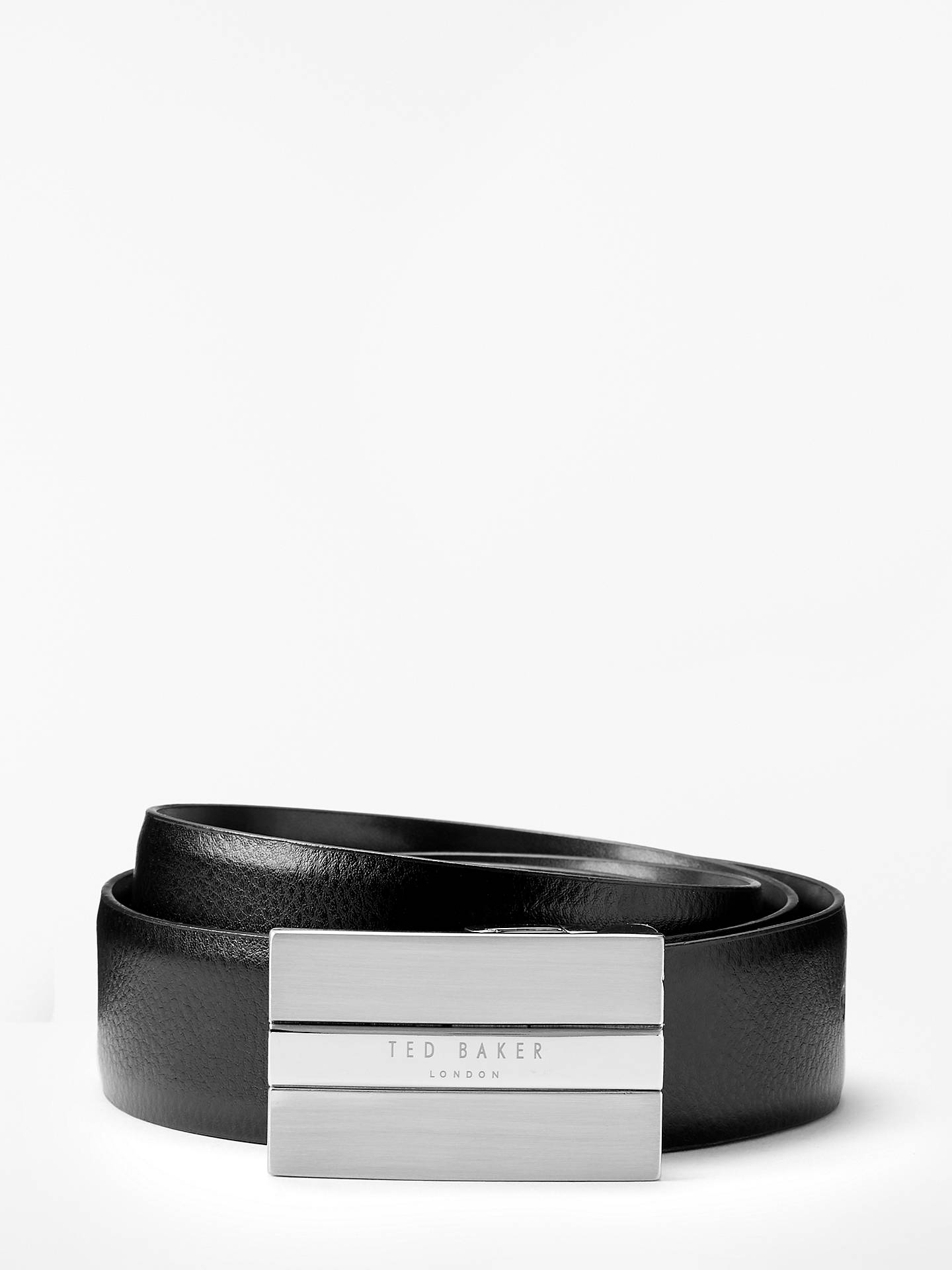 BuyTed Baker Two Buckle Belt Gift Set, One Size, Black Online at johnlewis.com