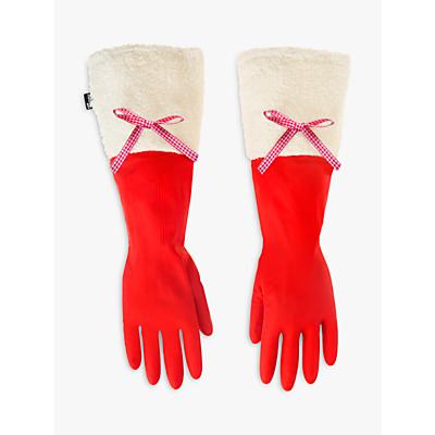 Vigar Christmas Cuffed Washing Up Gloves
