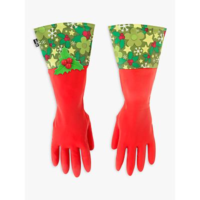 Vigar Mistletoe Washing Up Gloves