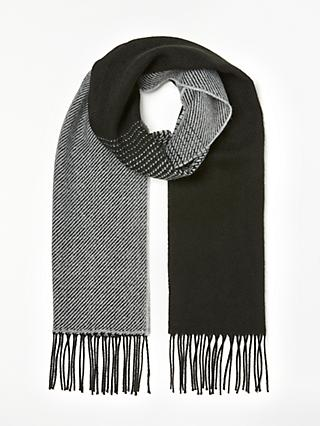 Kin Ombre Scarf, Black/Grey