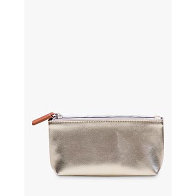 Caroline Gardner Textured Cosmetic Bag, Gold