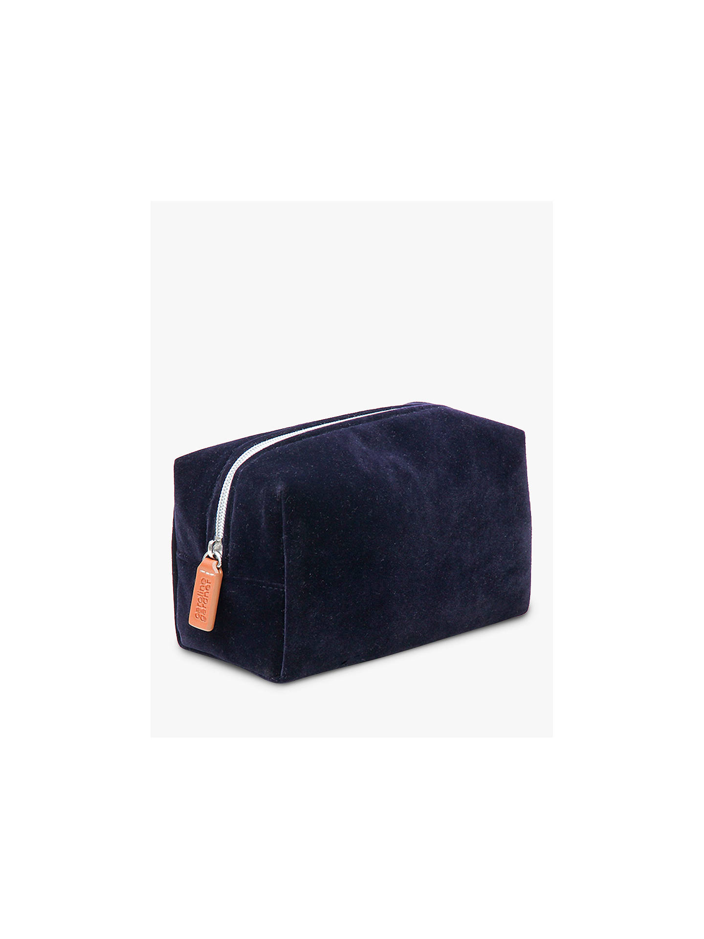 BuyCaroline Gardner Velvet Cosmetic Bag, Multi Online at johnlewis.com
