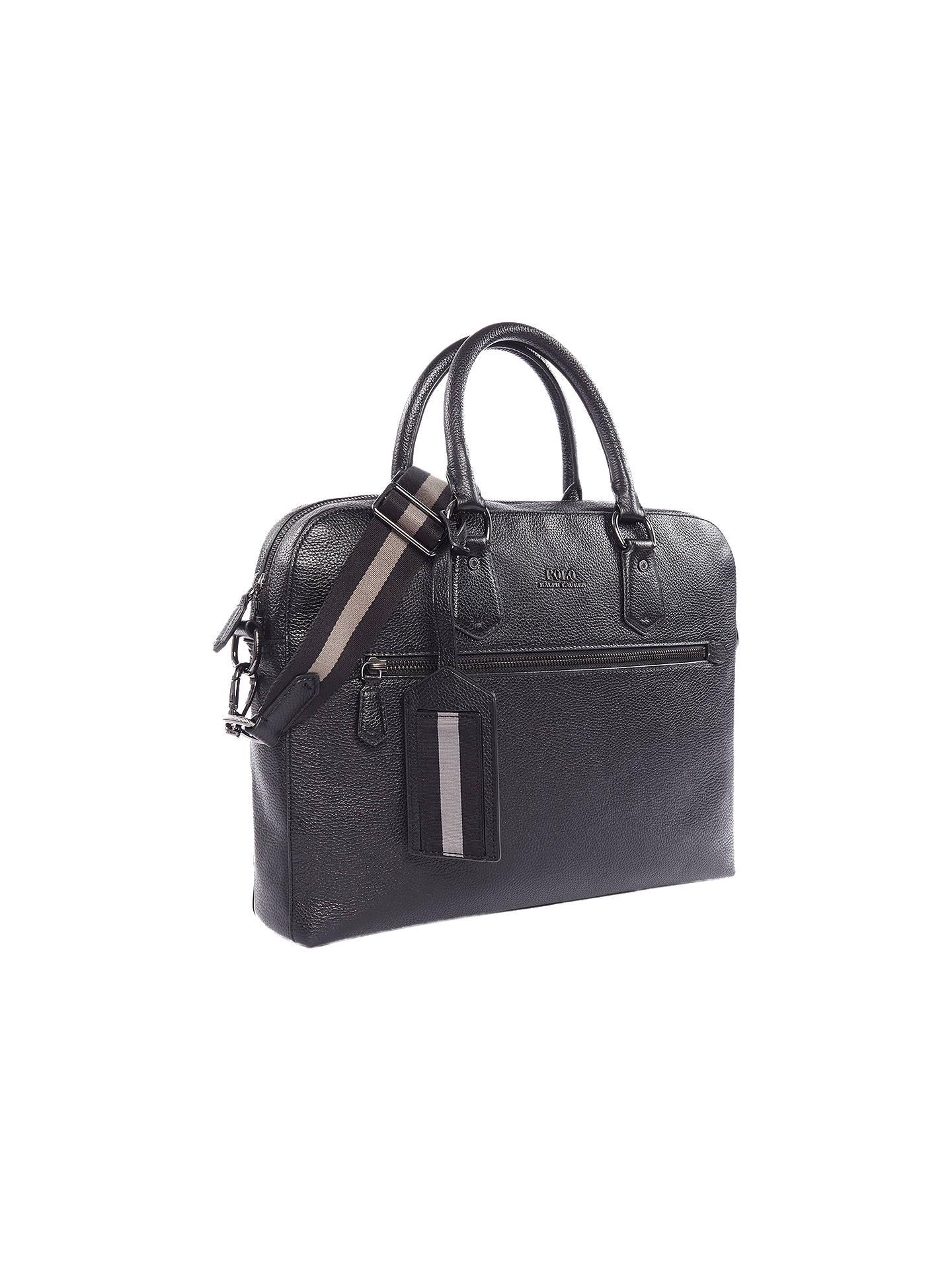 081c1880564c BuyPolo Ralph Lauren Leather Briefcase