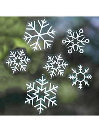 Ginger Ray Snowflake Window Stickers, Pack of 24