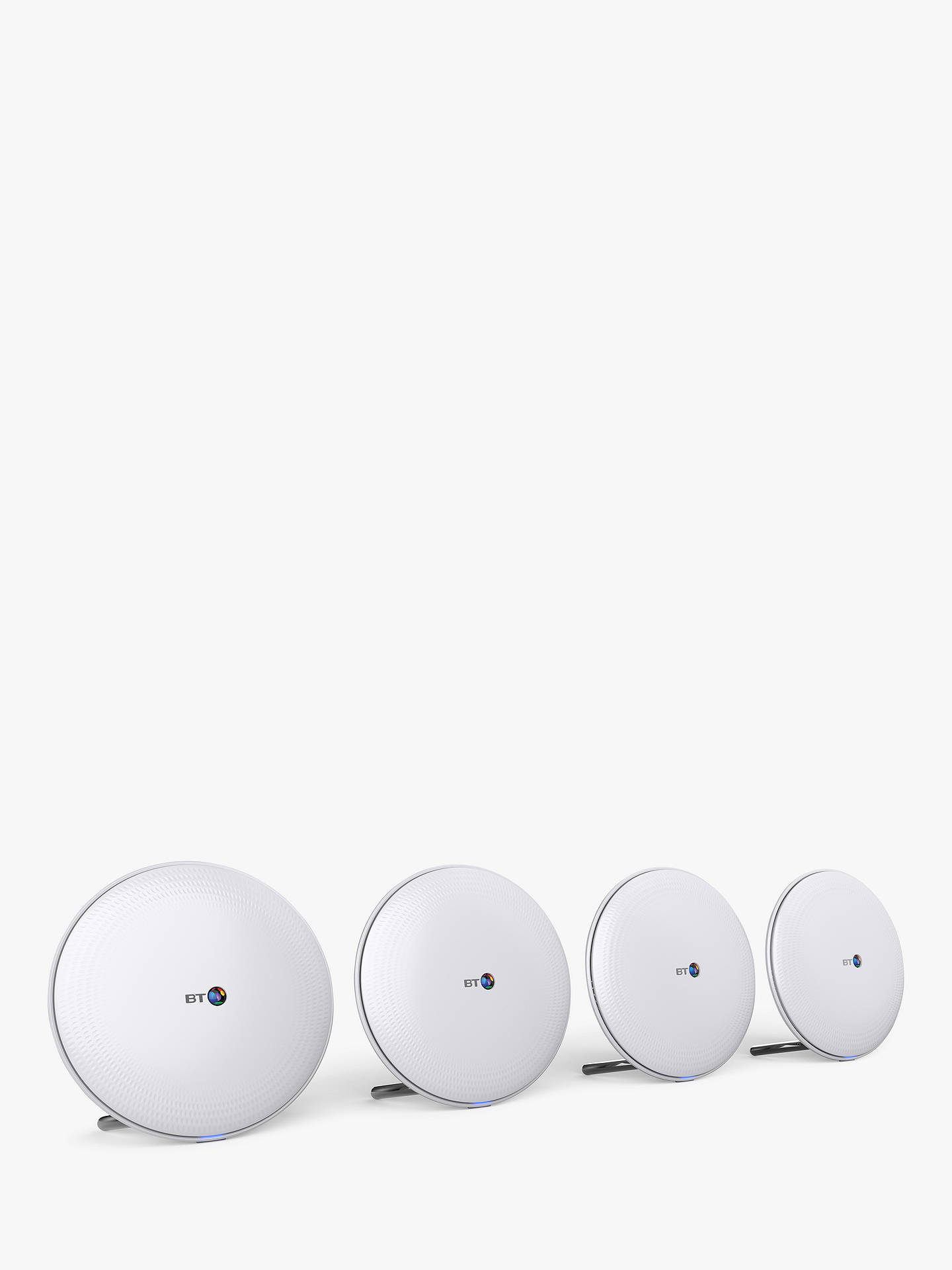 Buy BT Whole Home Wi-Fi Range Extender, White, Pack of 4 Online at johnlewis.com