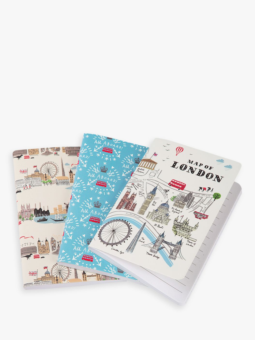 Alice Tait Alice Tait London Notebooks, Pack of 3