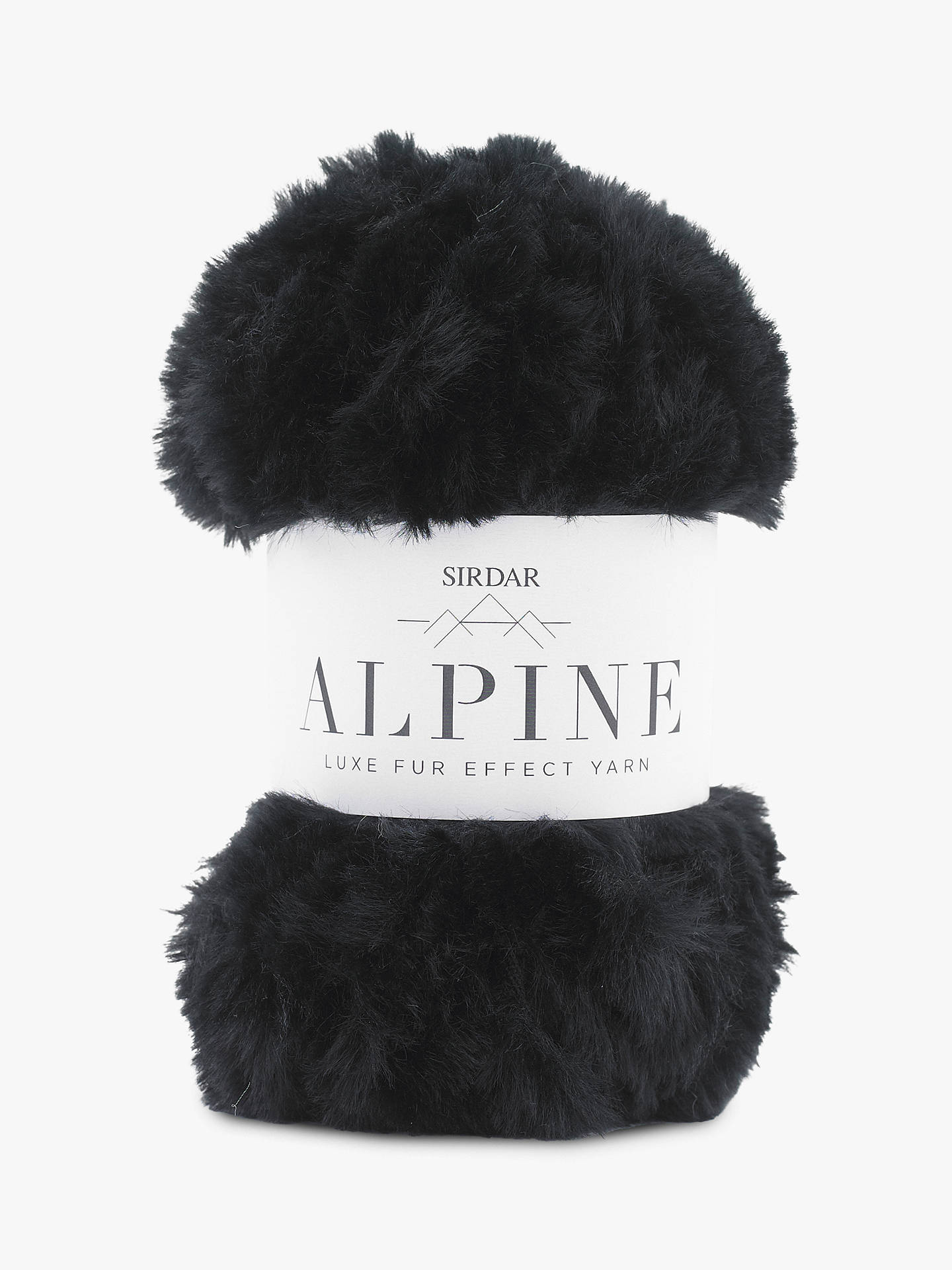 BuySirdar Alpine Super Chunky Yarn, 50g, Panther Online at johnlewis.com