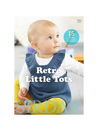 Sirdar Retro Little Tots Knitting Pattern Book