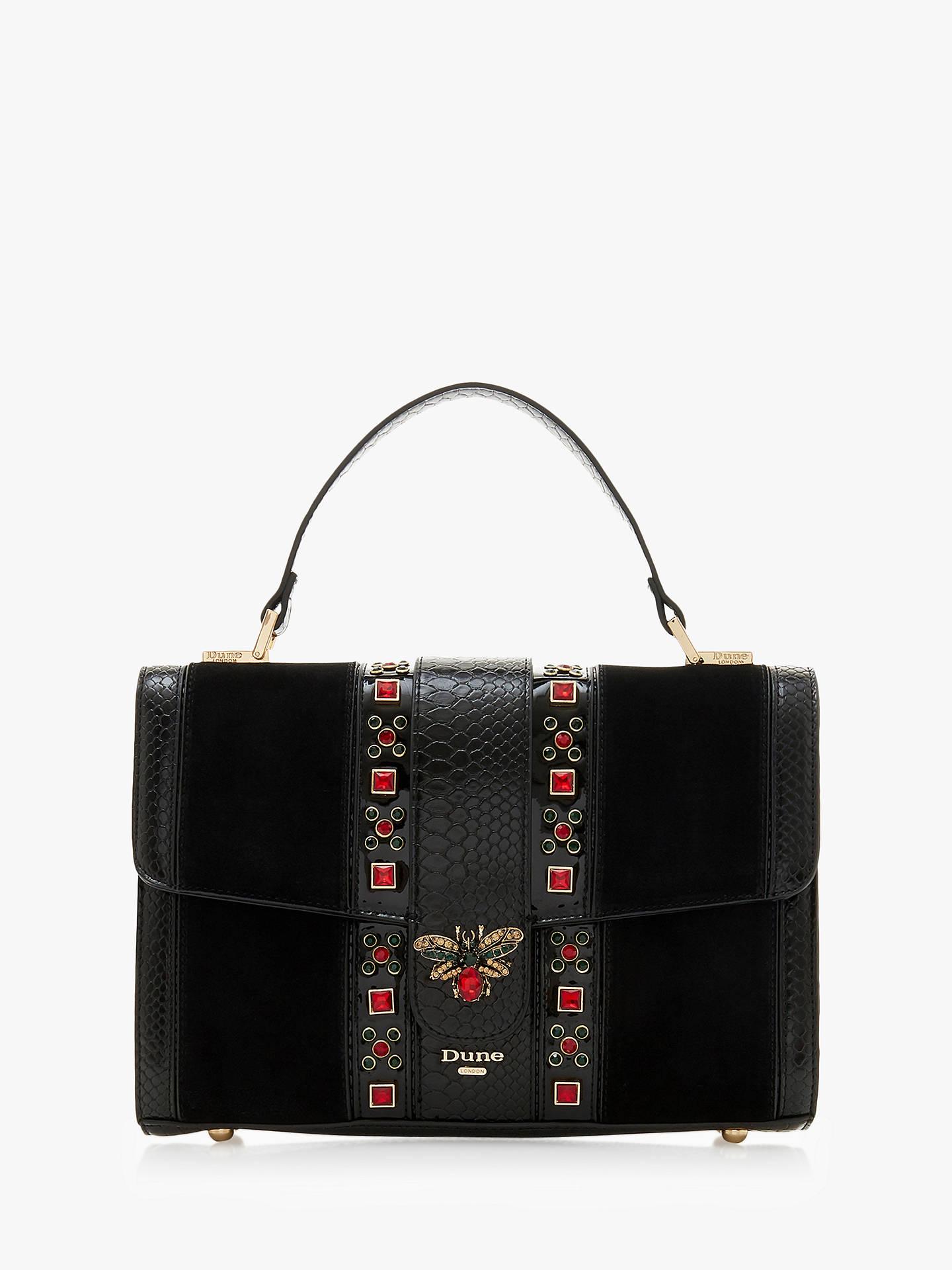 Dune Daybug Large Jewel Embellished Grab Bag at John Lewis   Partners 46e308dbe9559
