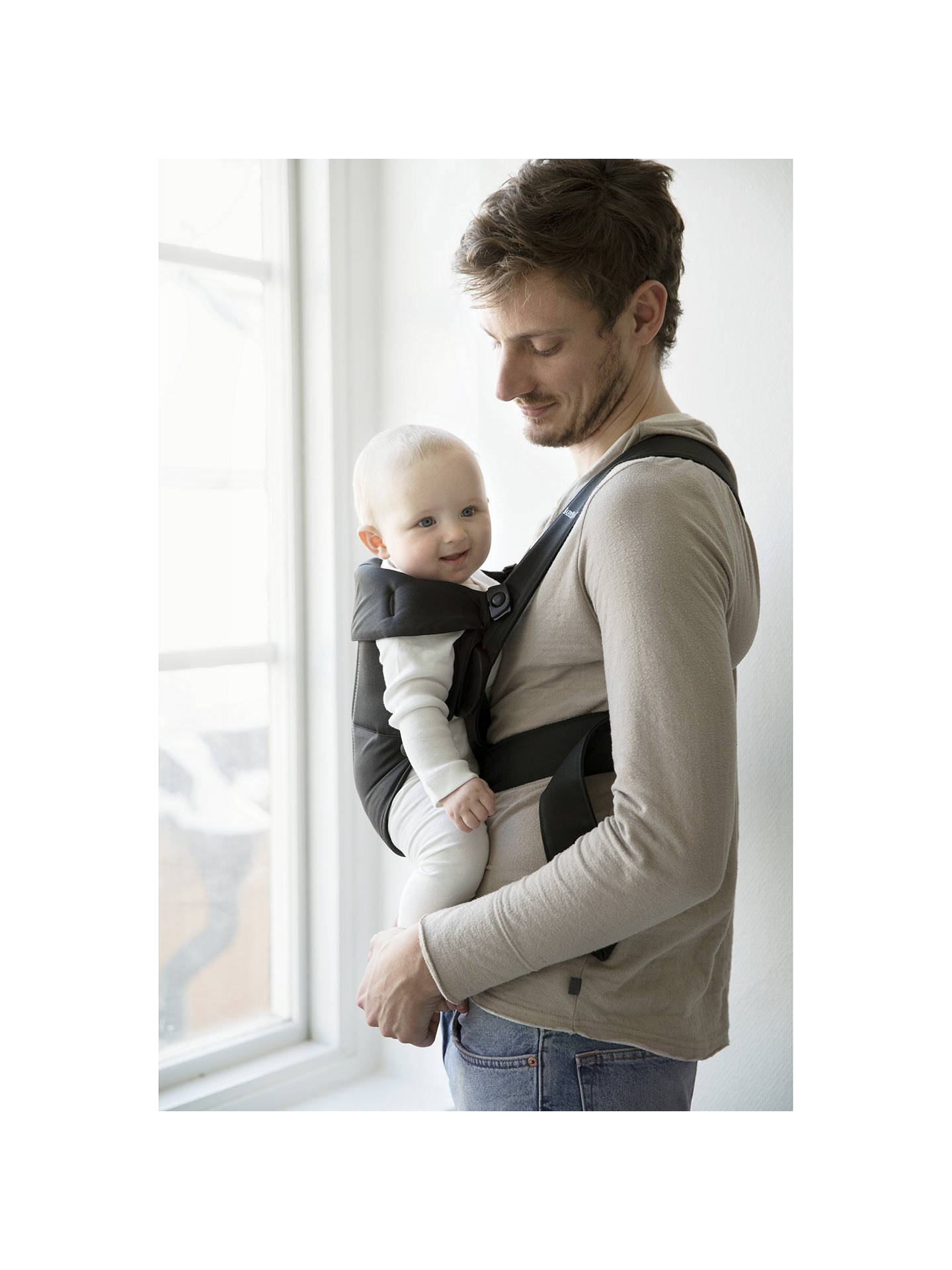 Babybjorn Mini Baby Carrier Black At John Lewis Partners