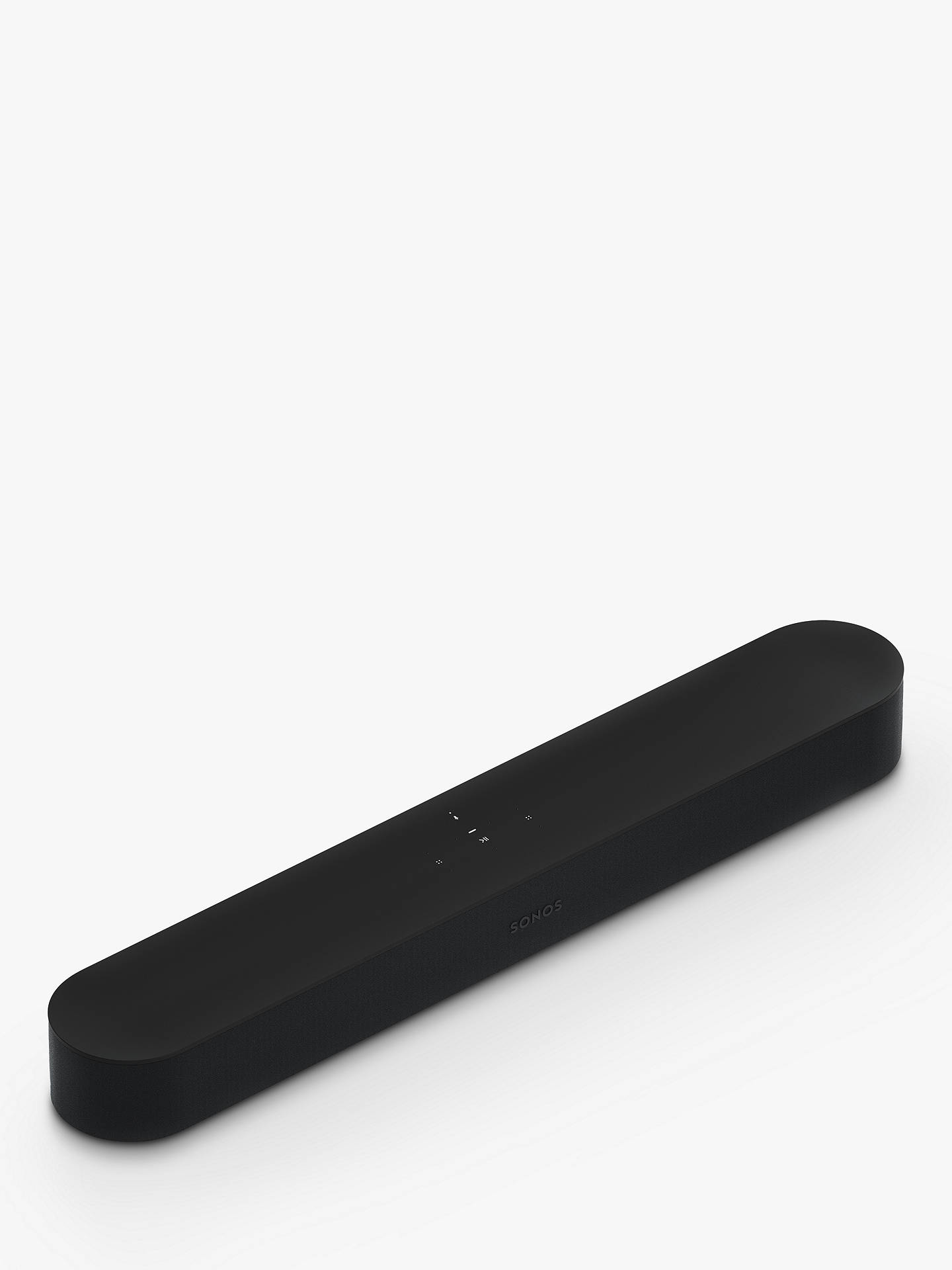 Buy Sonos Beam Compact Smart Sound Bar with Voice Control, Black Online at johnlewis.com