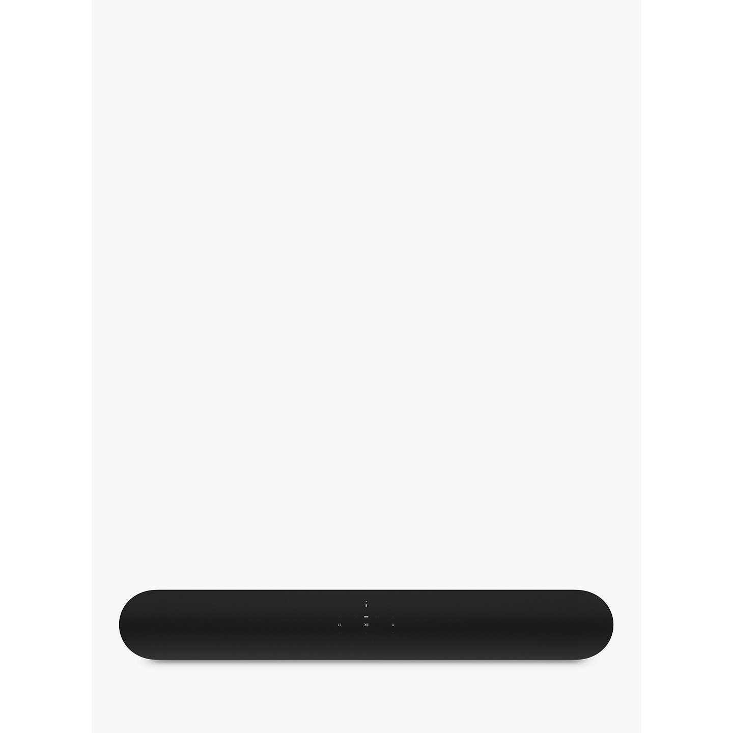 BuySonos Beam Compact Smart Sound Bar with Alexa Voice Recognition & Control, Black Online at johnlewis.com