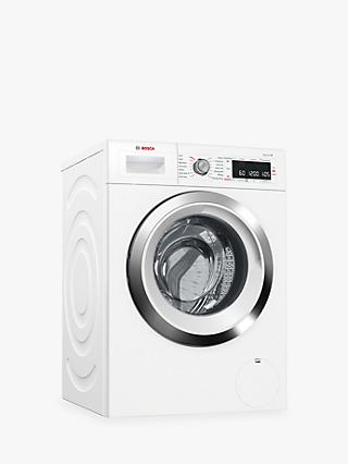 Bosch WAW285H0GB Freestanding Washing Machine with Home Connect, 9kg Load, A+++ Energy Rating, 1400rpm Spin, White
