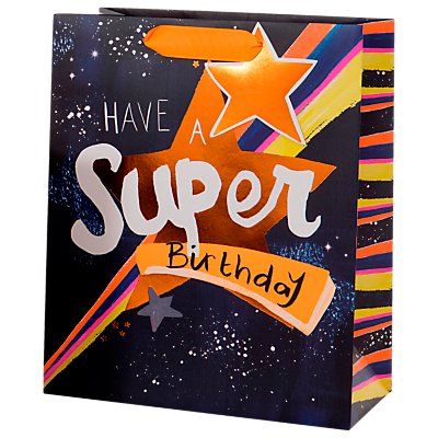 Image of Paper Salad Super Birthday Gift Bag, Large