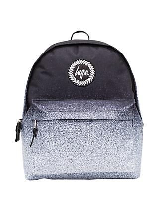 Hype Speckle Fade Children's Backpack, Black Speckle