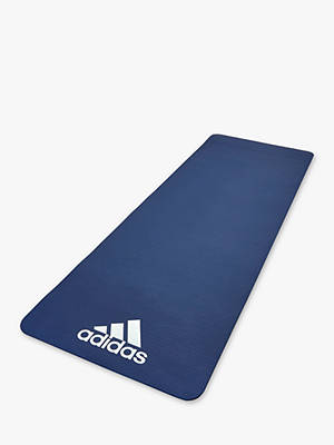Buy adidas 7mm Yoga Mat, Blue Online at johnlewis.com
