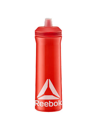 Buy Reebok Non-Spill Sports 750ml Water Bottle, Red Online at johnlewis.com